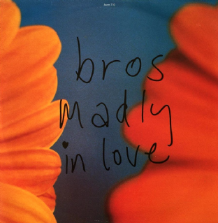 "Bros - Madly In Love (12"") (EX-/VG)"